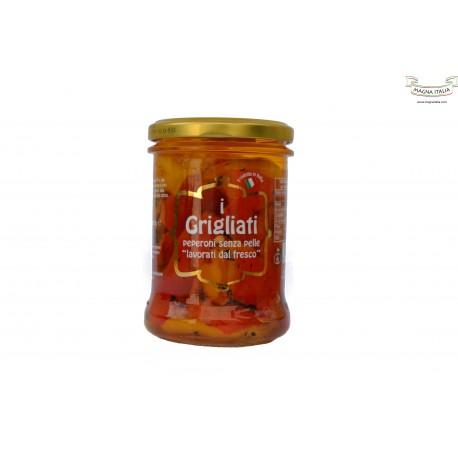 Peperoni grigliati - senza pelle