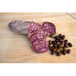 Salame alle olive taggiasche