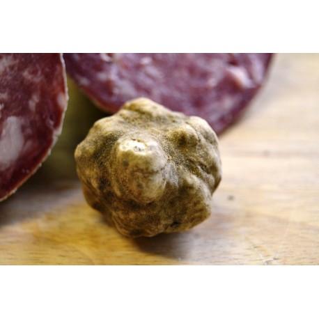 Salami with truffle